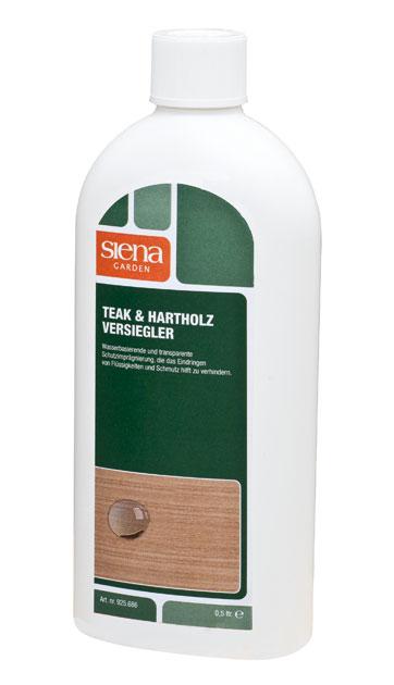 Teak & Hartholz Versiegler für Gartenmöbel 500 ml  bei edingershops