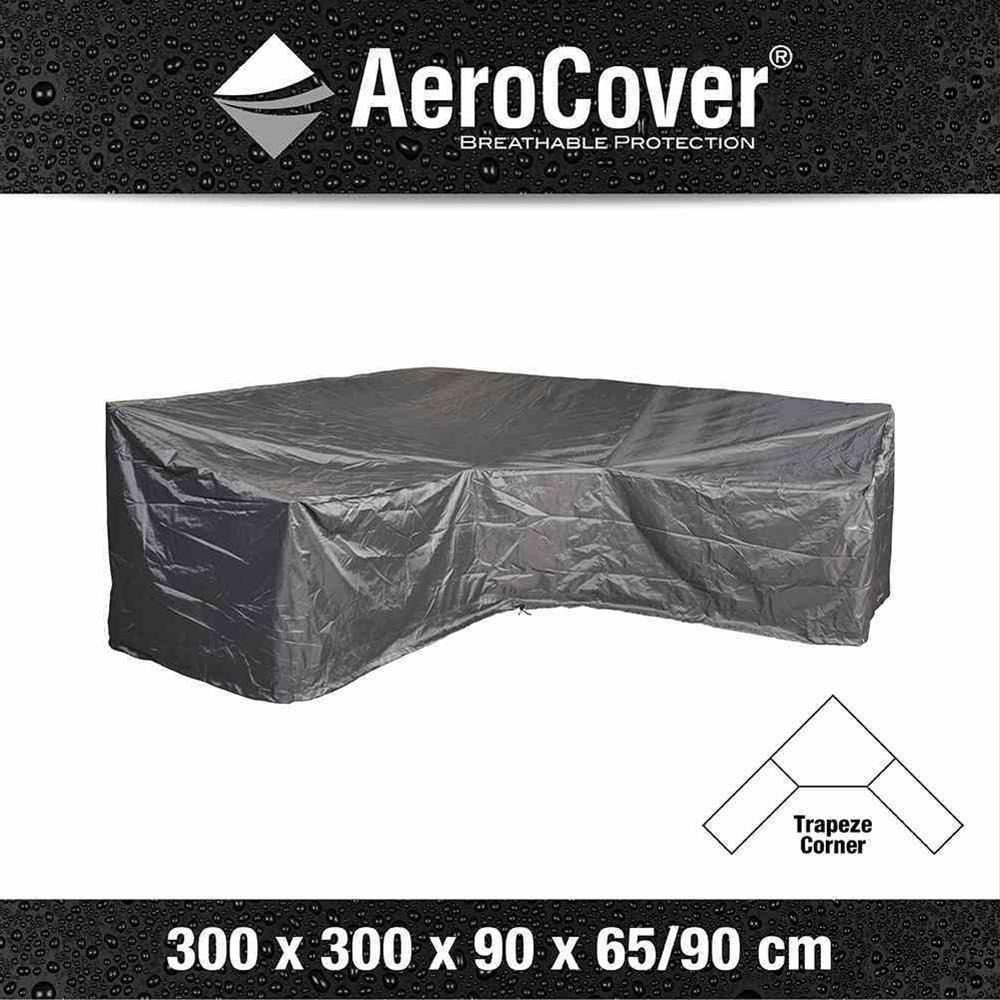 AeroCover Loungehülle 300x300x90xH65/90 cm L-Form Bild 1