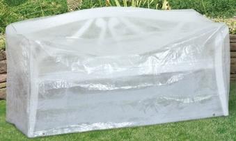 Schutzhülle Wehncke Classic für Gartenbank 160x75x80cm transparent Bild 1