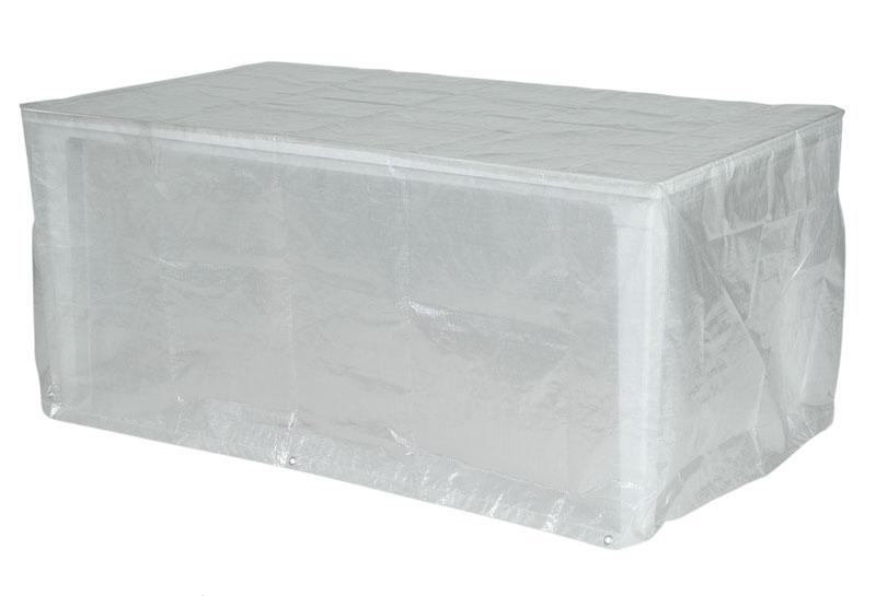 Schutzhülle Wehncke Classic für Gartentisch 220x100x75cm transparent Bild 1