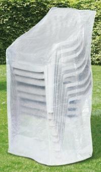 Schutzhülle Wehncke Classic für Stapelsessel 65x65x150cm transparent Bild 1