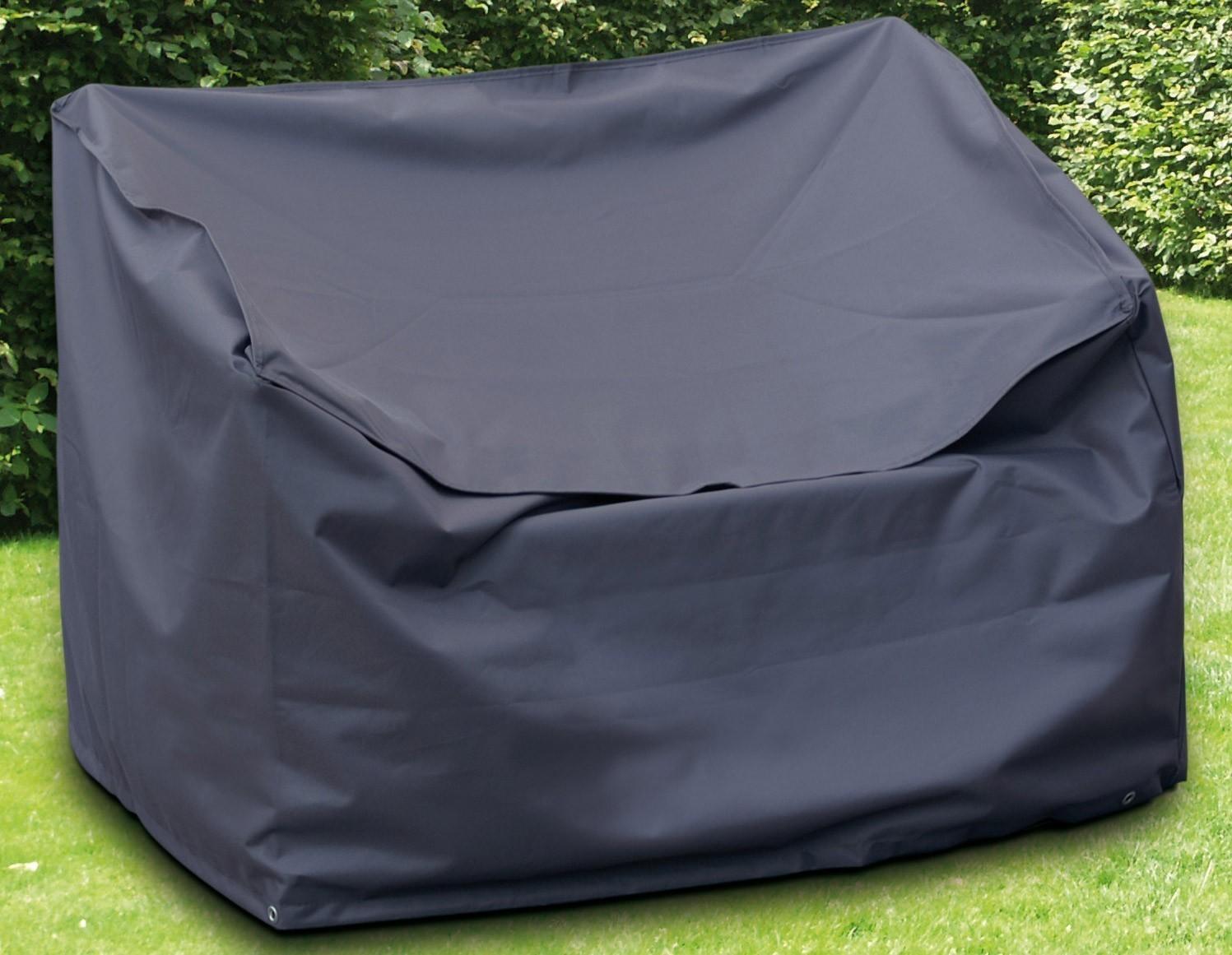 Schutzhülle Wehncke Deluxe für Gartenbank 160x75x80cm anthrazit Bild 1