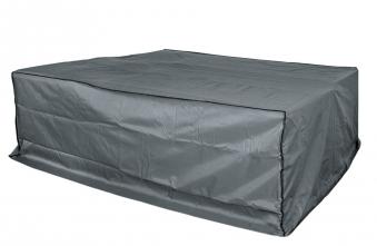 Schutzhülle Wehncke Deluxe für Rattan Garnitur 200x160x70cm anthrazit Bild 1
