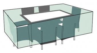 Schutzhülle Wehncke Deluxe für Rattan Garnitur 200x160x70cm anthrazit Bild 3