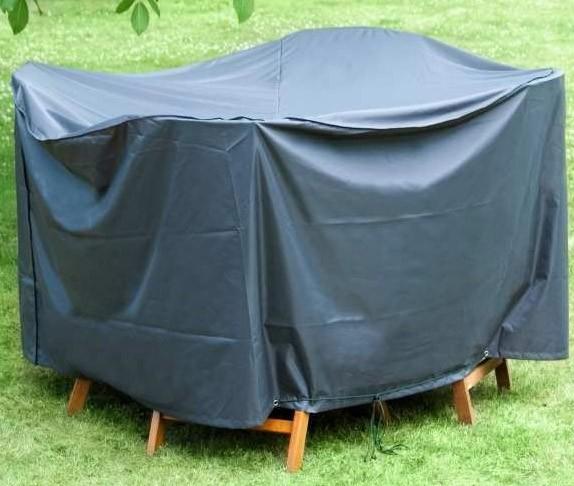 Schutzhülle Wehncke Deluxe für Sitzgruppe Ø200x95cm anthrazit Bild 1