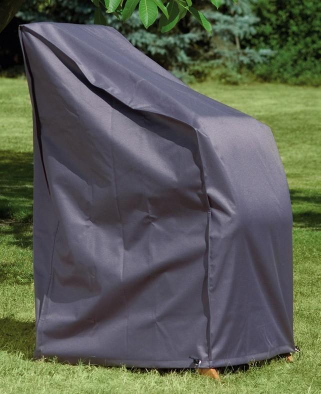 Schutzhülle Wehncke Deluxe für Stapelsessel 65x65x150cm anthrazit Bild 1