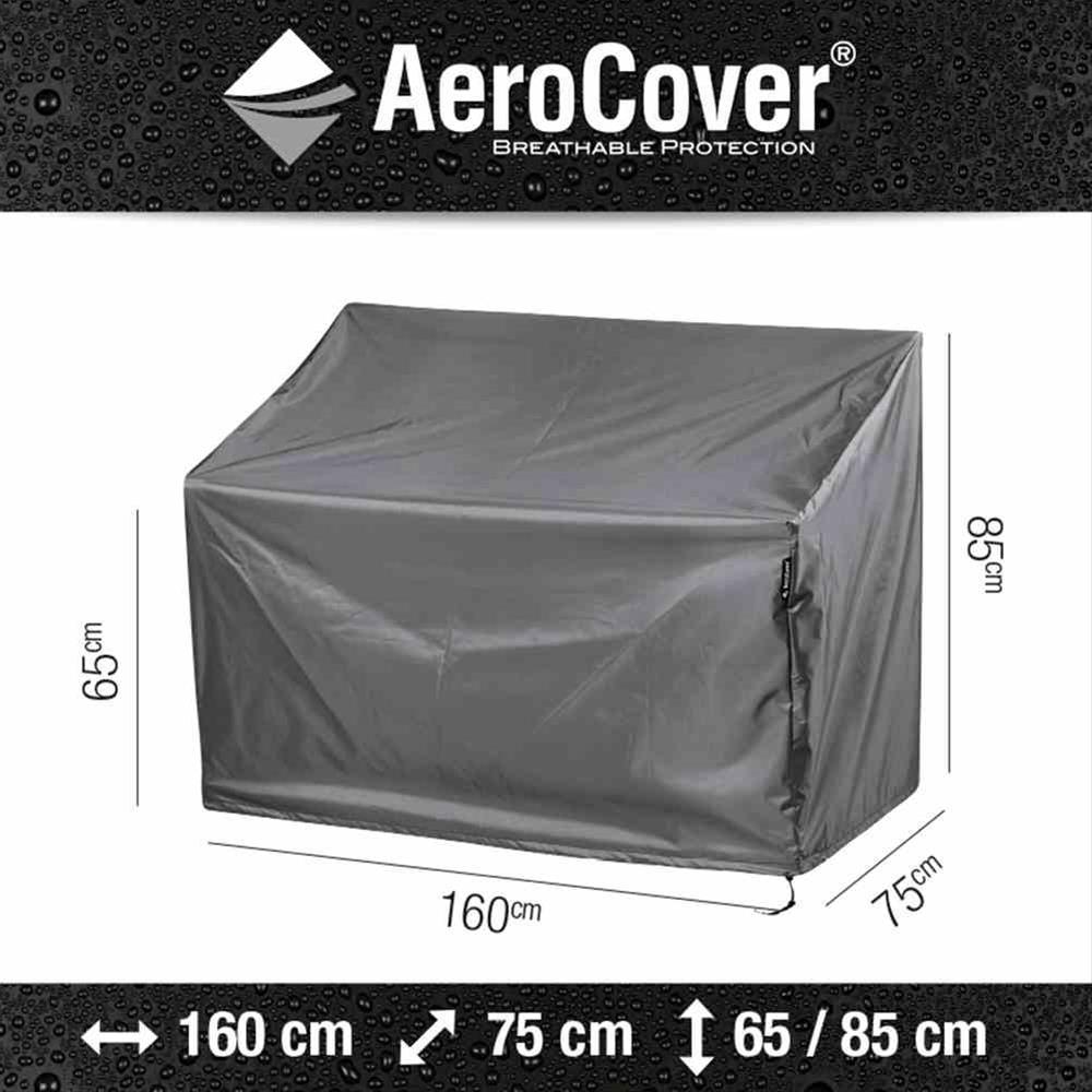 Schutzhülle für Gartenbank AeroCover 160x75xH85cm Bild 1
