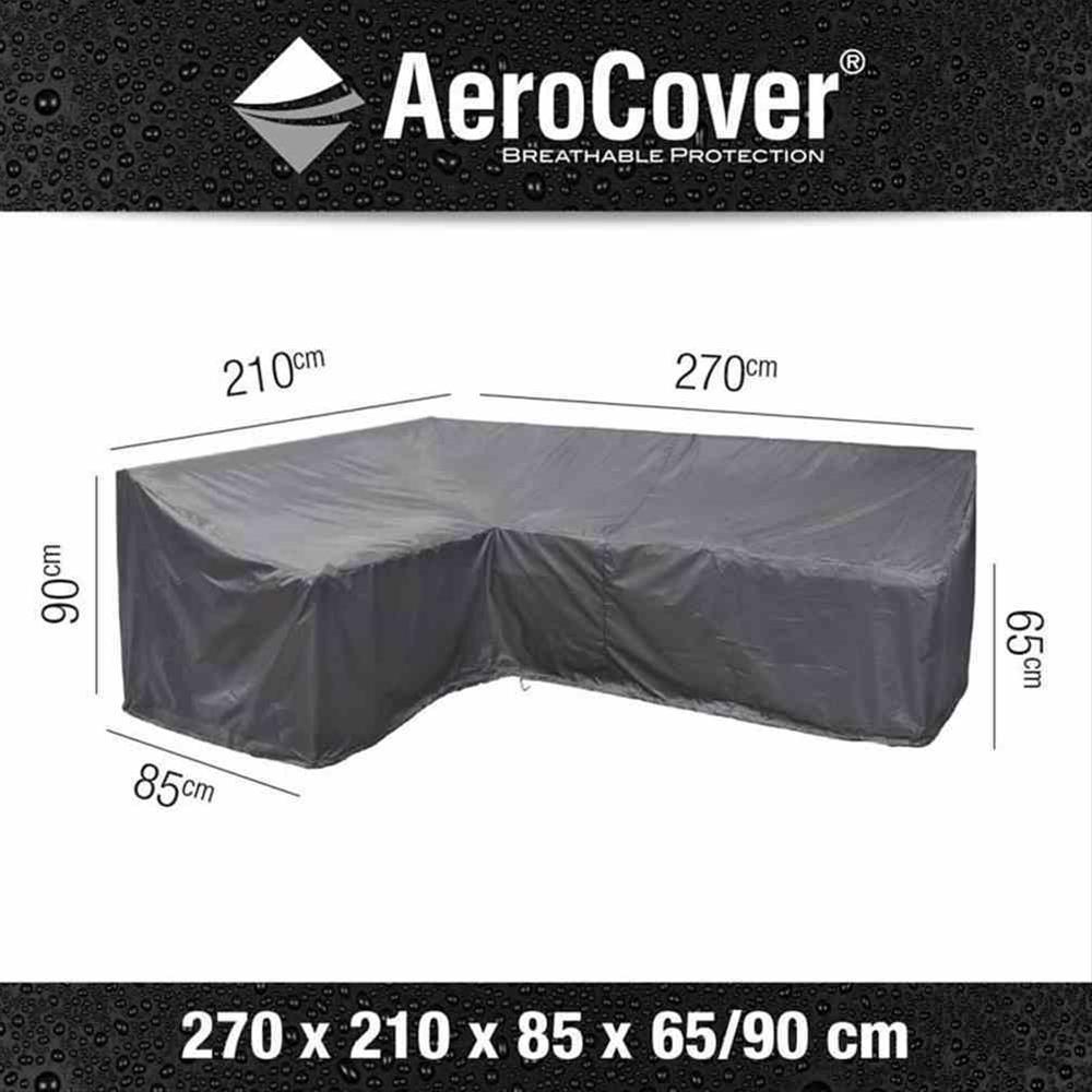 Schutzhülle für Loungegruppe AeroCover 270x210x85xH65/90cm L links Bild 1