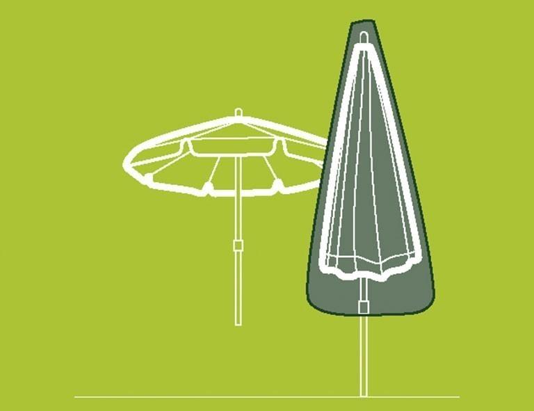 Schutzhülle für Sonnenschirm / Marktschirm bis Ø 200cm Siena Garden Bild 2