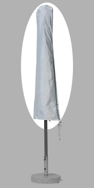 Schutzhülle für Sonnenschirm bis Ø300cm gardissimo grau Bild 1