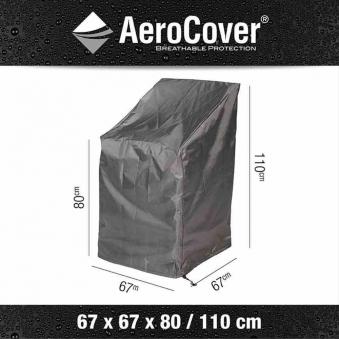 Schutzhülle für Stapelstühle AeroCover 67x67x110cm Bild 1