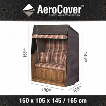Schutzhülle für Strandkörbe AeroCover XL 150x105x165/145 cm Bild 1
