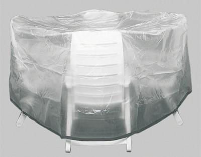 Siena Garden Schutzhülle für Sitzgruppe Standard Ø 200cm transparent Bild 1