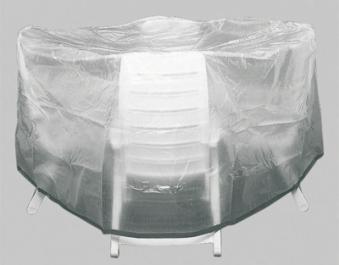 Siena Garden Schutzhülle für Sitzgruppe Standard Ø 320cm transparent Bild 1