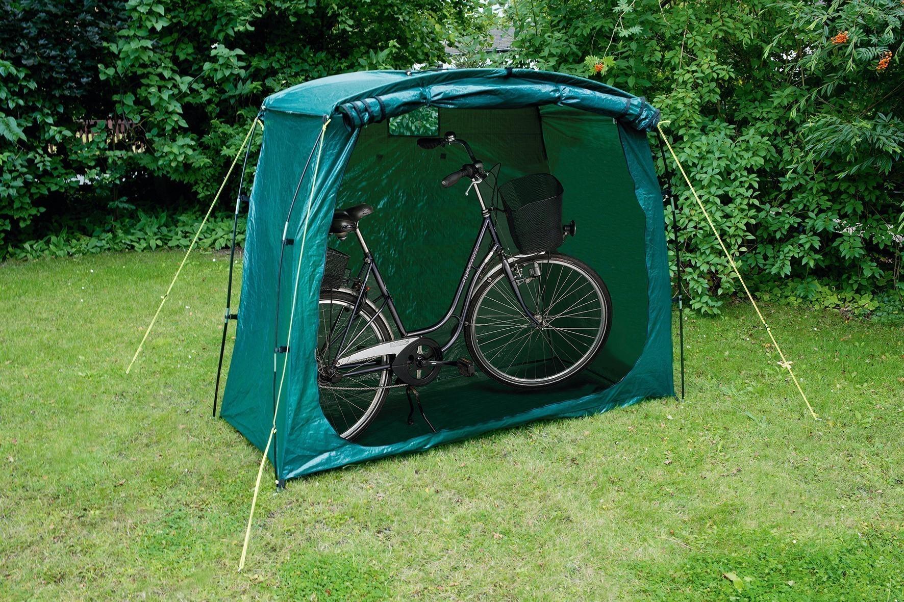 Wehncke Universalgarage / Fahrradgarage PE grün 200x80x150cm Bild 1