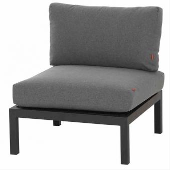 Aluminium Lounge Modul Mittelteil Siena Garden Alando anthrazit/grau Bild 1