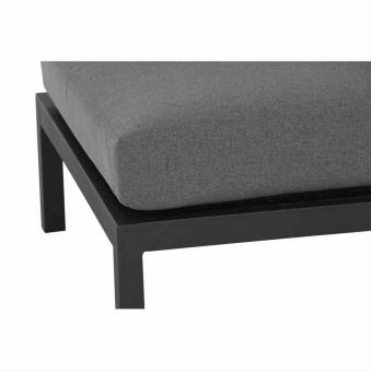 Aluminium Lounge Modul Mittelteil Siena Garden Alando anthrazit/grau Bild 2