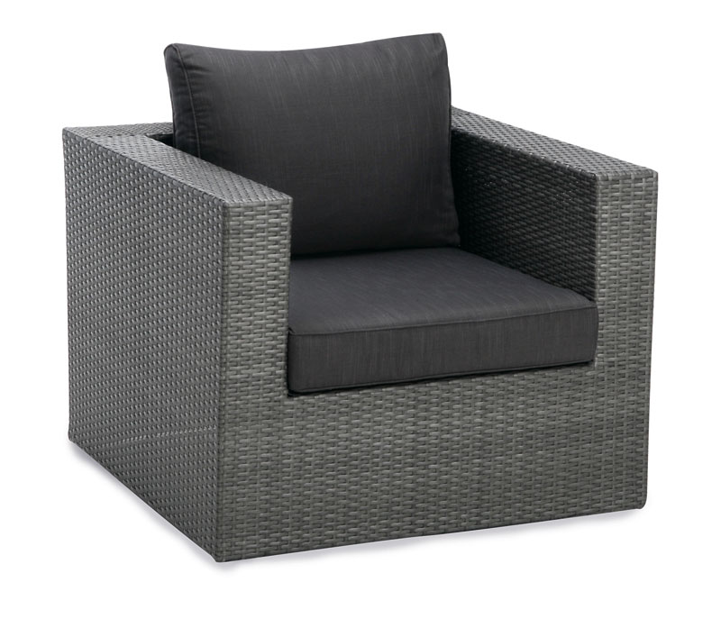 loungesessel gartensessel aruba polyrattan anthrazit bei. Black Bedroom Furniture Sets. Home Design Ideas