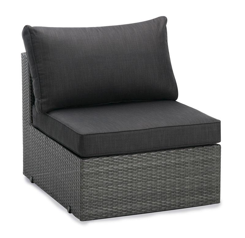 mittelteil f r loungem bel aruba polyrattan anthrazit. Black Bedroom Furniture Sets. Home Design Ideas