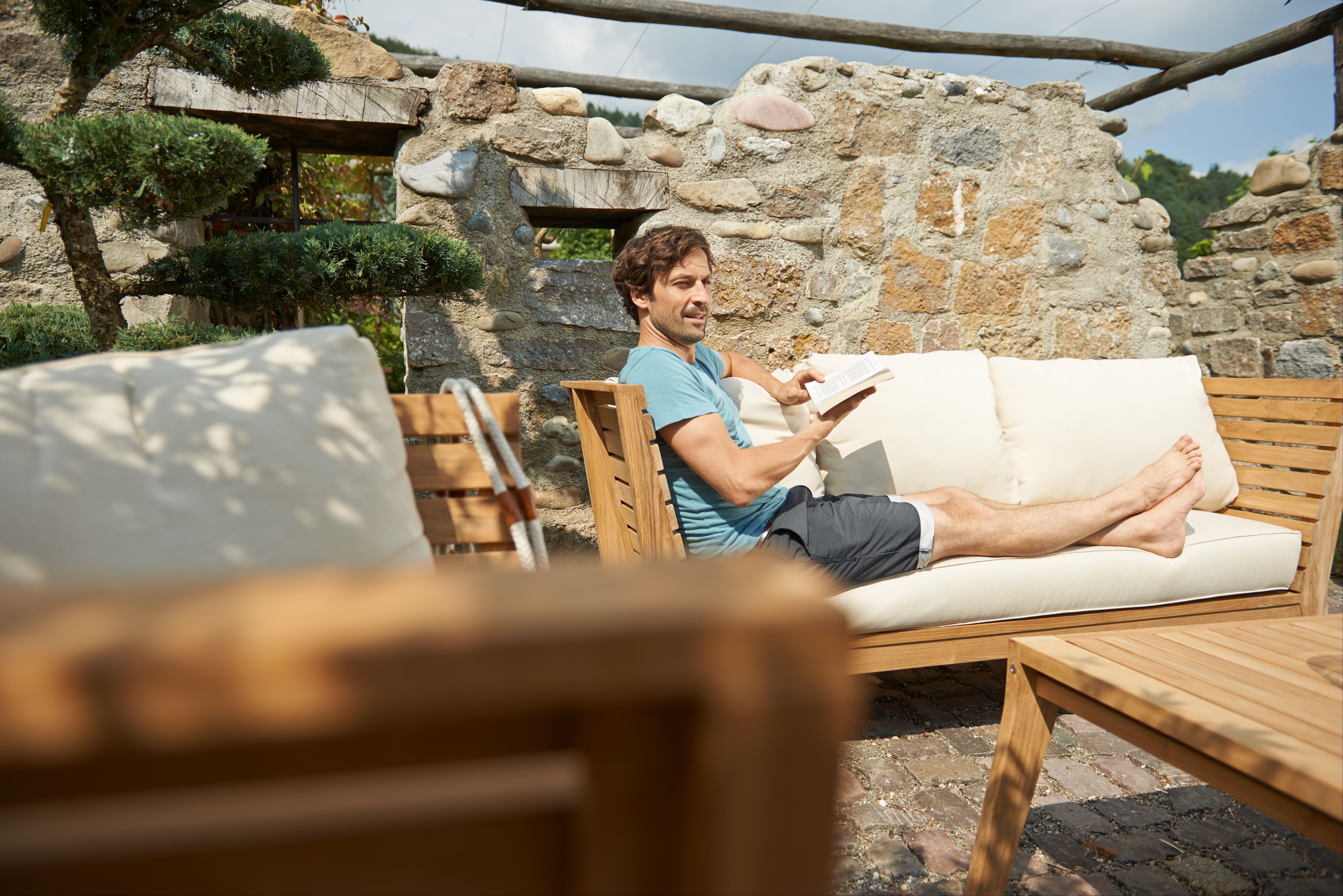Gartenmöbel / Lounge Möbel Set acamp Aurora 4tlg. Teak Bild 2