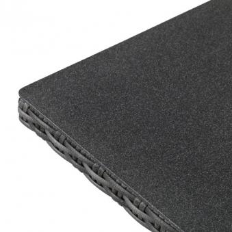 Gartentisch Bari greemotion Polyrattan grau Spraystone 120x70cm Bild 2