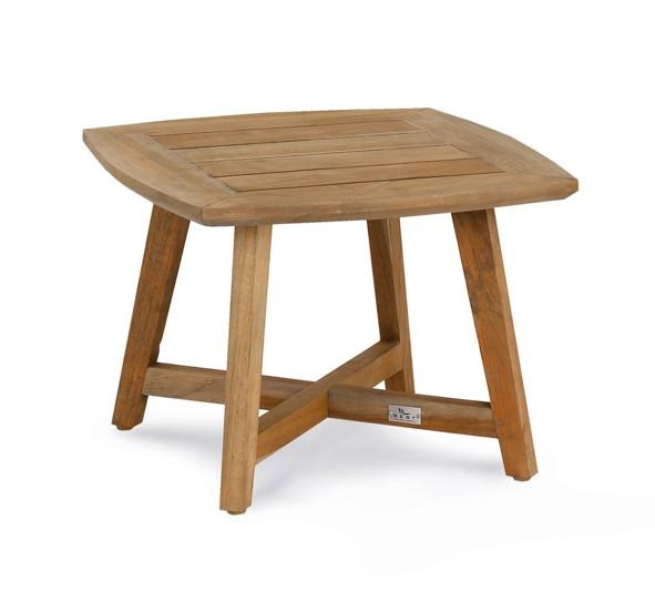 Gartentisch / Lounge Tisch Paterna Best 50x50cm Teak Bild 1