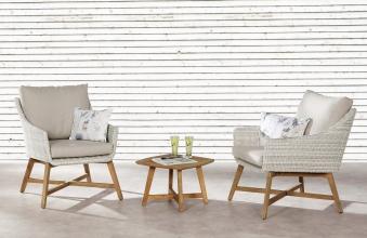 Gartentisch / Lounge Tisch Paterna Best 50x50cm Teak Bild 2