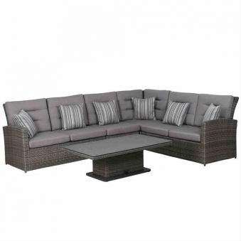 siena garden lounge set lift set porto sofa tisch polyrattan anthr bei. Black Bedroom Furniture Sets. Home Design Ideas