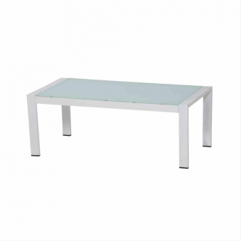 Aluminium Loungemöbel Siena Garden Dalia Set 4-teilig weiß/grau Bild 4