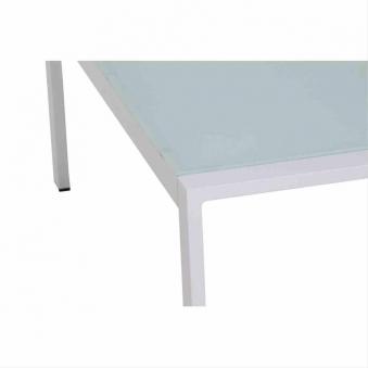 Aluminium Loungemöbel Siena Garden Dalia Set 4-teilig weiß/grau Bild 5