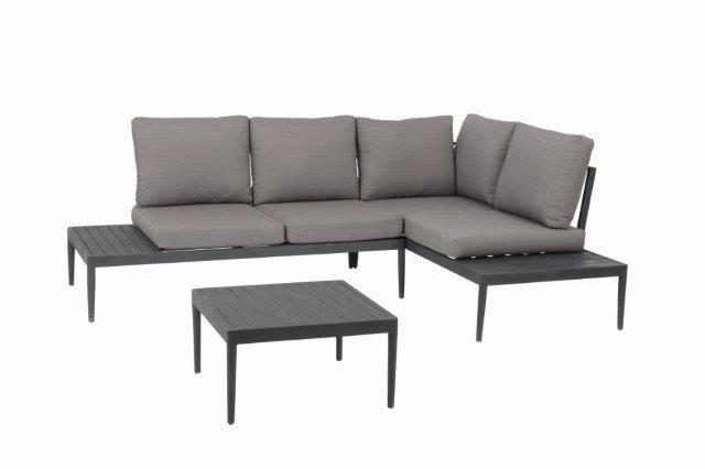 Gartenmöbel Lounge Set Acamp Swan Lounge Aluminium Anthrazit Bei