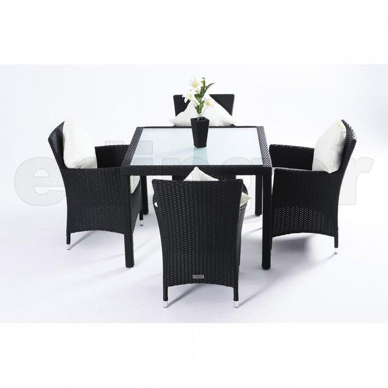 kleiner esstisch mit 4 st hlen my blog. Black Bedroom Furniture Sets. Home Design Ideas
