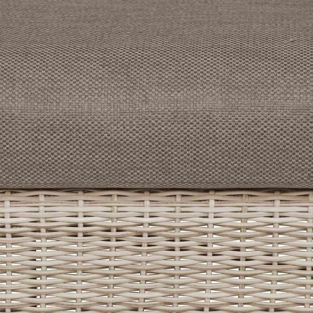Lounge Sofa / Gartensofa 3-Sitzer Siena Garden Soria Polyrattan braun Bild 4