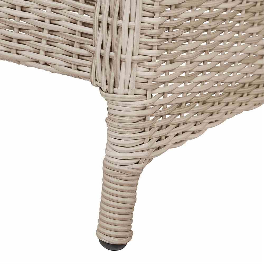 Lounge Sofa / Gartensofa 3-Sitzer Siena Garden Soria Polyrattan braun Bild 5
