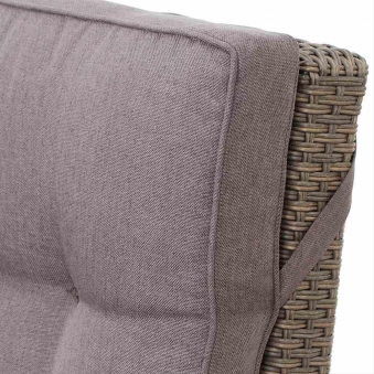 Siena Garden Lounge Sessel / Positionssessel Teramo Polyrattan bronze Bild 2