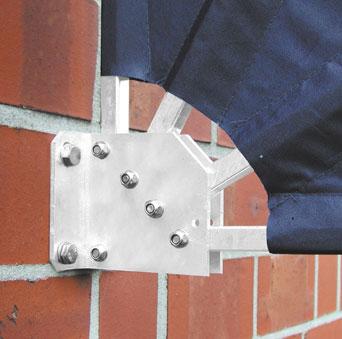 Leco Balkonfächer Sichtschutz / Sonnenschutz / Windschutz orange Bild 3