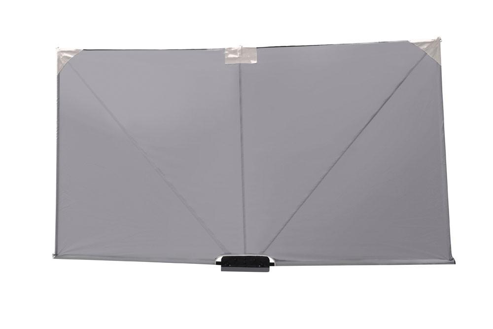 leco sichtschutz paravent mobiler sitzschutz 3x1 60m anthrazit bei. Black Bedroom Furniture Sets. Home Design Ideas