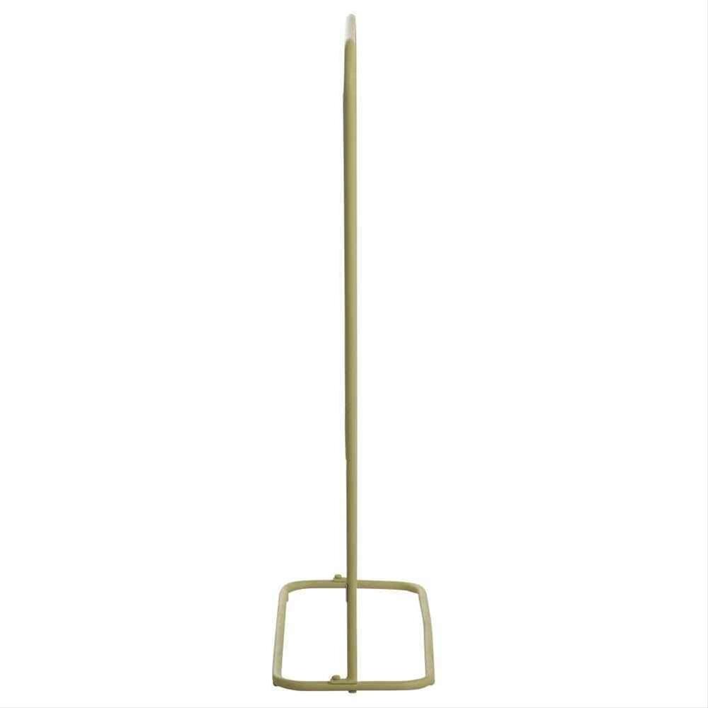 MWH Sichtschutz / Paravent L Divido Stahl 75,5x118cm gelb Bild 3