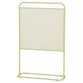 MWH Sichtschutz / Paravent L Divido Stahl 75,5x118cm gelb Bild 1