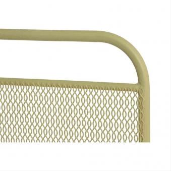 MWH Sichtschutz / Paravent L Divido Stahl 75,5x118cm gelb Bild 2