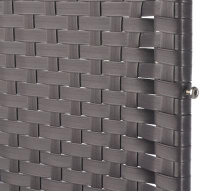 Sichtschutz / Zaun Screen graphit Kunststoff Geflecht 120x180 cm ...
