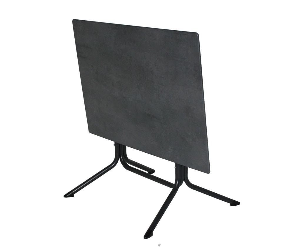 Gartentisch / Klapptisch MFG Mec-Slim Topalit 120x80xm anthrazit Bild 2