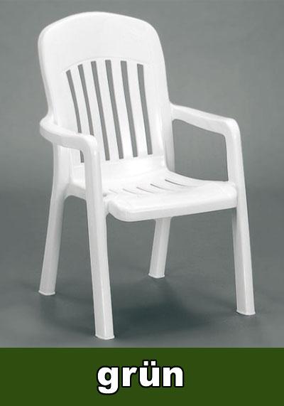 sieger gartensessel stapelbar comtesse smaragdgr n kunststoff bild 1. Black Bedroom Furniture Sets. Home Design Ideas
