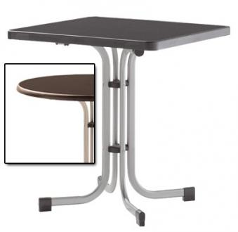 sieger gartentisch klapptisch 70x70cm stahl champ mecalit mocca bei. Black Bedroom Furniture Sets. Home Design Ideas