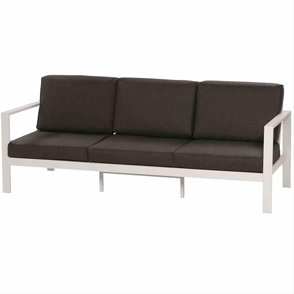 Aluminium Loungemöbel Set Siena Garden Sarah 4-teilig weiß/anthrazit Bild 4