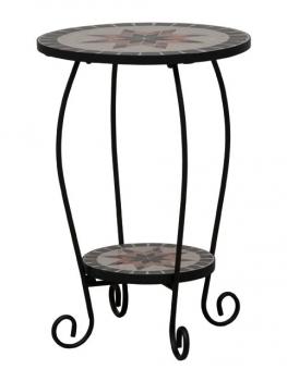 blumenst nder blumens ule stella eisen schwarz mosaik. Black Bedroom Furniture Sets. Home Design Ideas