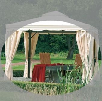 ersatz seitenteile zu siena garden pavillon dubai natur 4. Black Bedroom Furniture Sets. Home Design Ideas