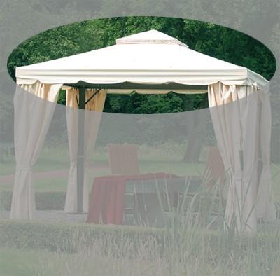 ersatzdach zu pavillon dubai natur bei. Black Bedroom Furniture Sets. Home Design Ideas
