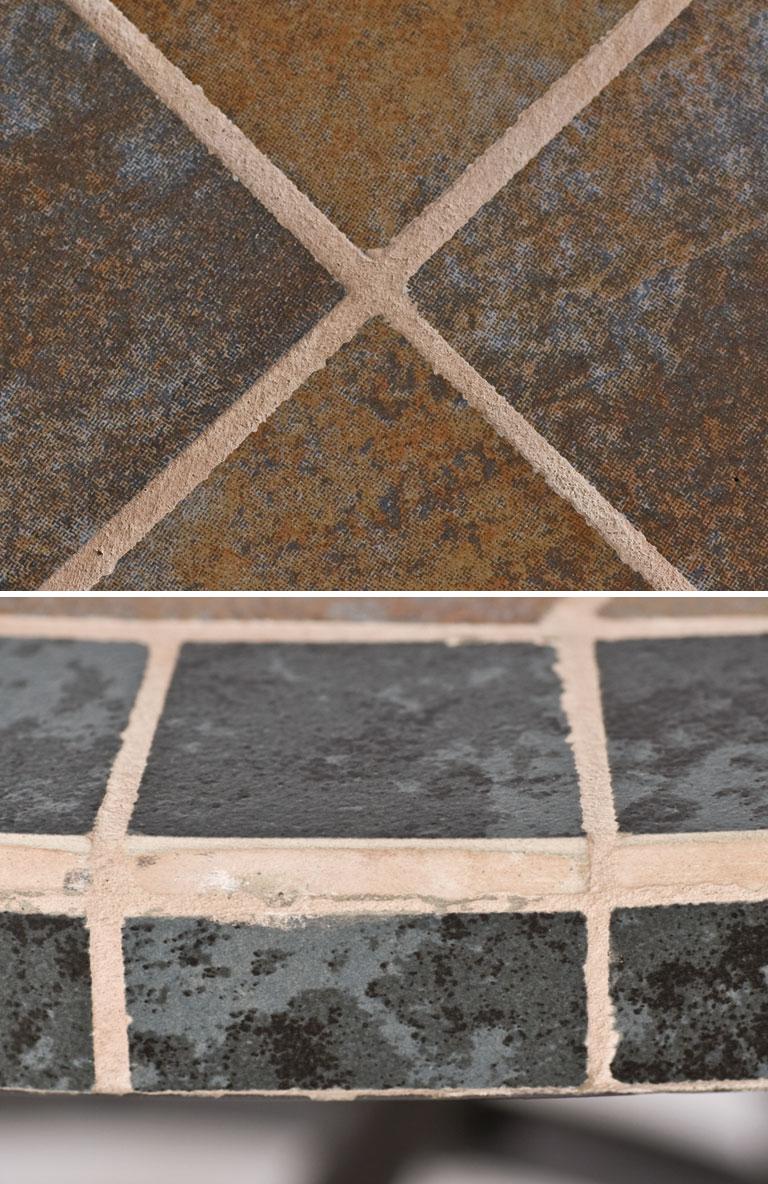 gartentisch ponza 150x90cm mosaik stahl bei. Black Bedroom Furniture Sets. Home Design Ideas