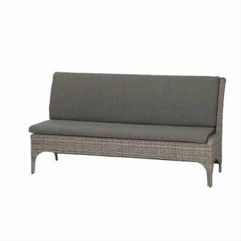 Lounge Modul Siena Garden Calado 3-Sitzer links Polyrattan taupe Bild 1